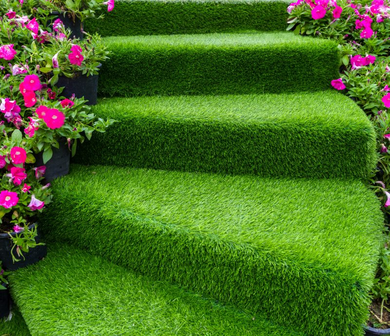 fake grass that looks real